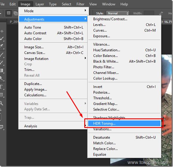 tutorial membuaat efek HDR di gambar baru