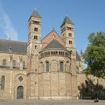 DSC05399.JPG - 30.05.2015.  Maastricht;  Plac Vrijthof - bazylika św. Serwacego
