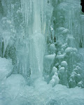Stalagtites in Winter, Swallow Falls State Park, Western Maryland.