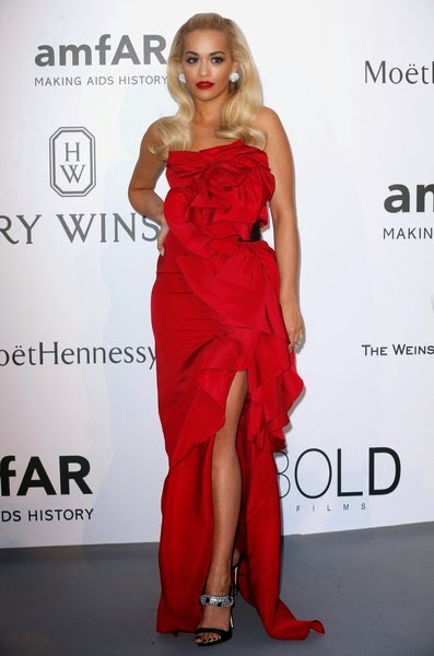 Rita Ora attends amfAR's 22nd Cinema Against AIDS Gala
