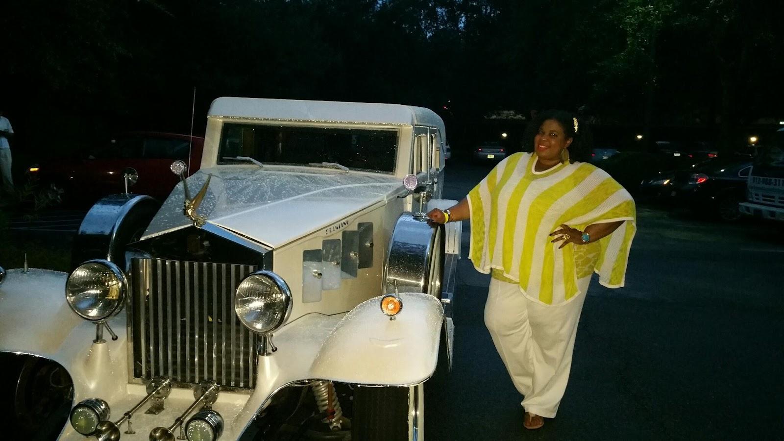 Rolls Royce All White Savannah Pride Kickoff Garden Party Photos Savannah Georgia 2015