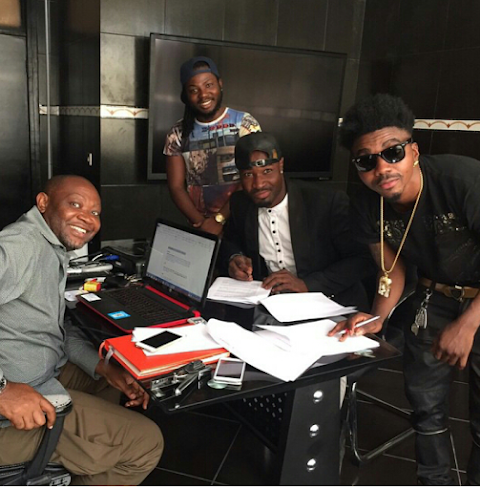 HarrySong renews Contract with MTN