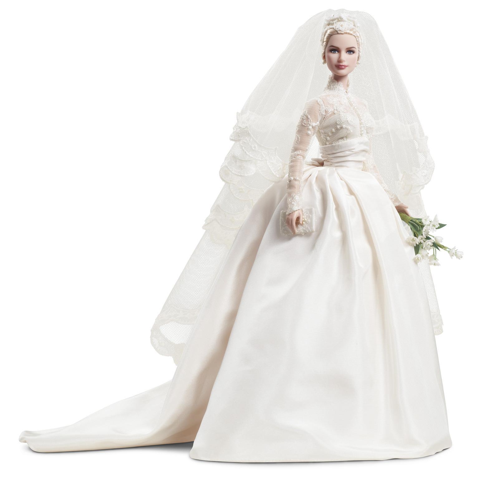Grace Kelly Bride Barbie Doll