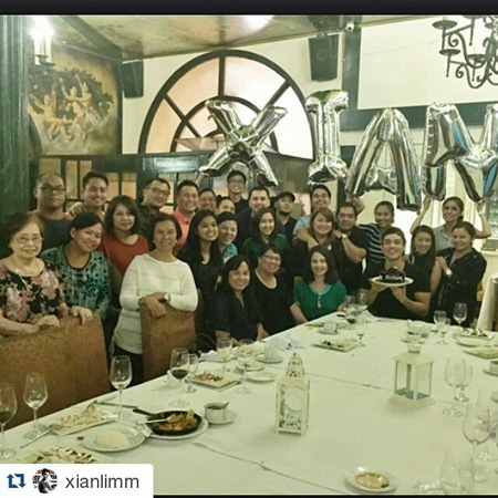 Kim Chiu organizes birthday party for Xian Lim