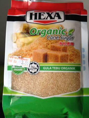 Gula organik tebu asli