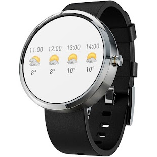 Free Download Transparent clock & weather APK for Samsung