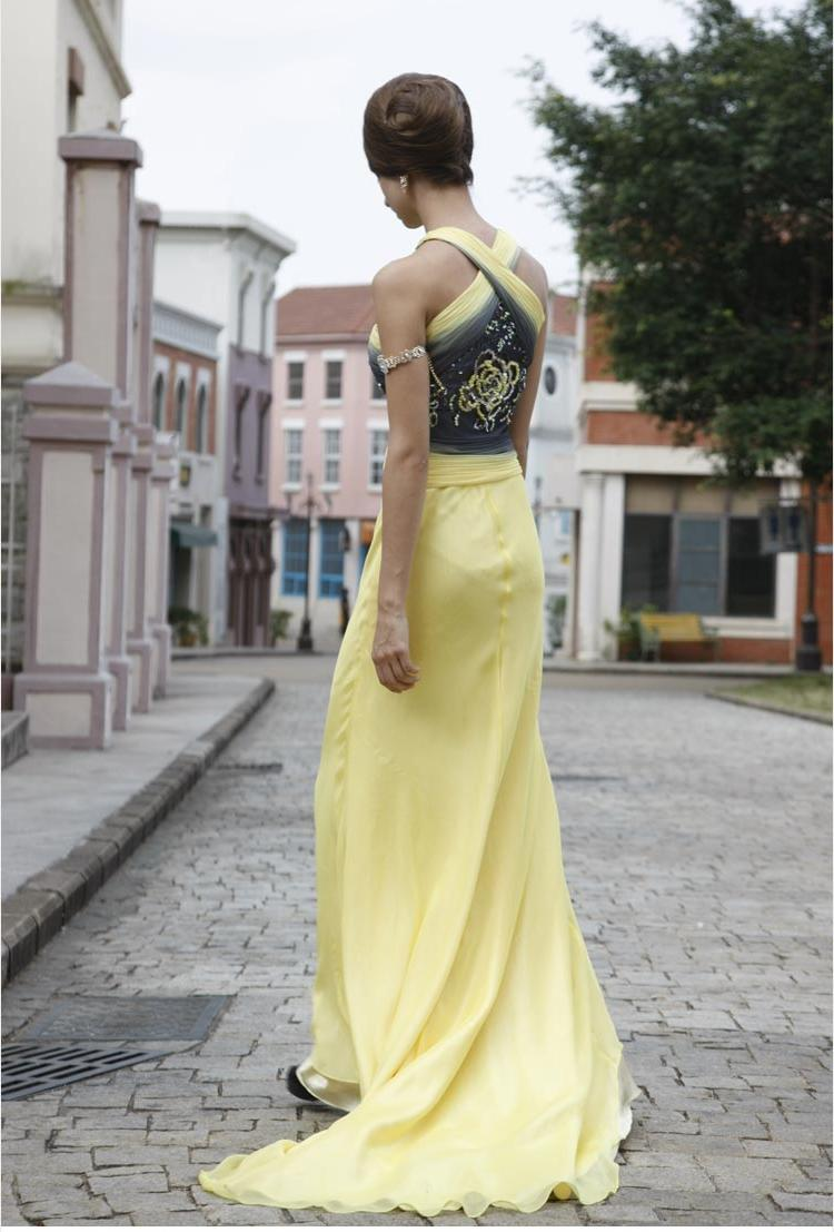 NEW Stunning Yellow Long