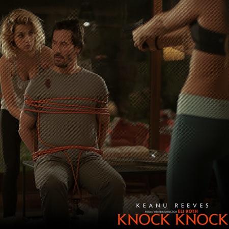Ana De Armas and Keanu Reeves - Knock Knock