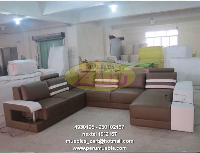 Muebles Peru, muebles villa El Salvador, muebles modernos de sala, muebles de cuero