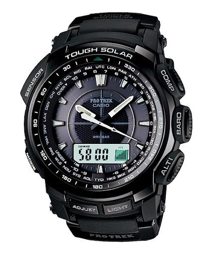 Jam Tangan Untuk Mendaki : Casio Outgear Altimeter