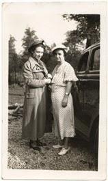 1937 Mom & Grandma