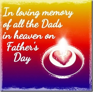 loving memory of fathers