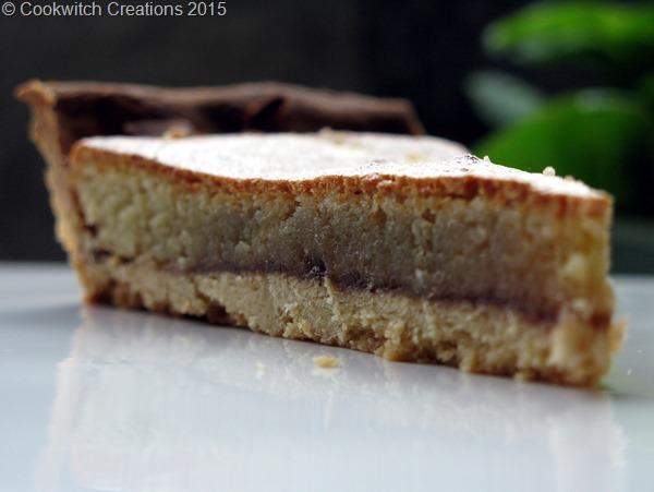 Frangipane and apple butter tart