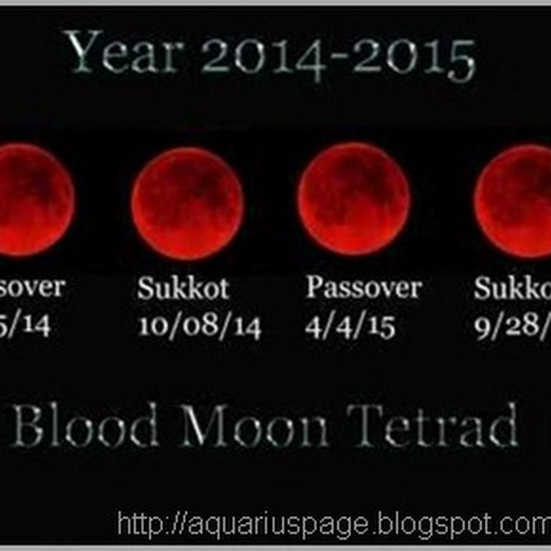 Os fenômenos das Luas Sangrentas para 2014 e 2015
