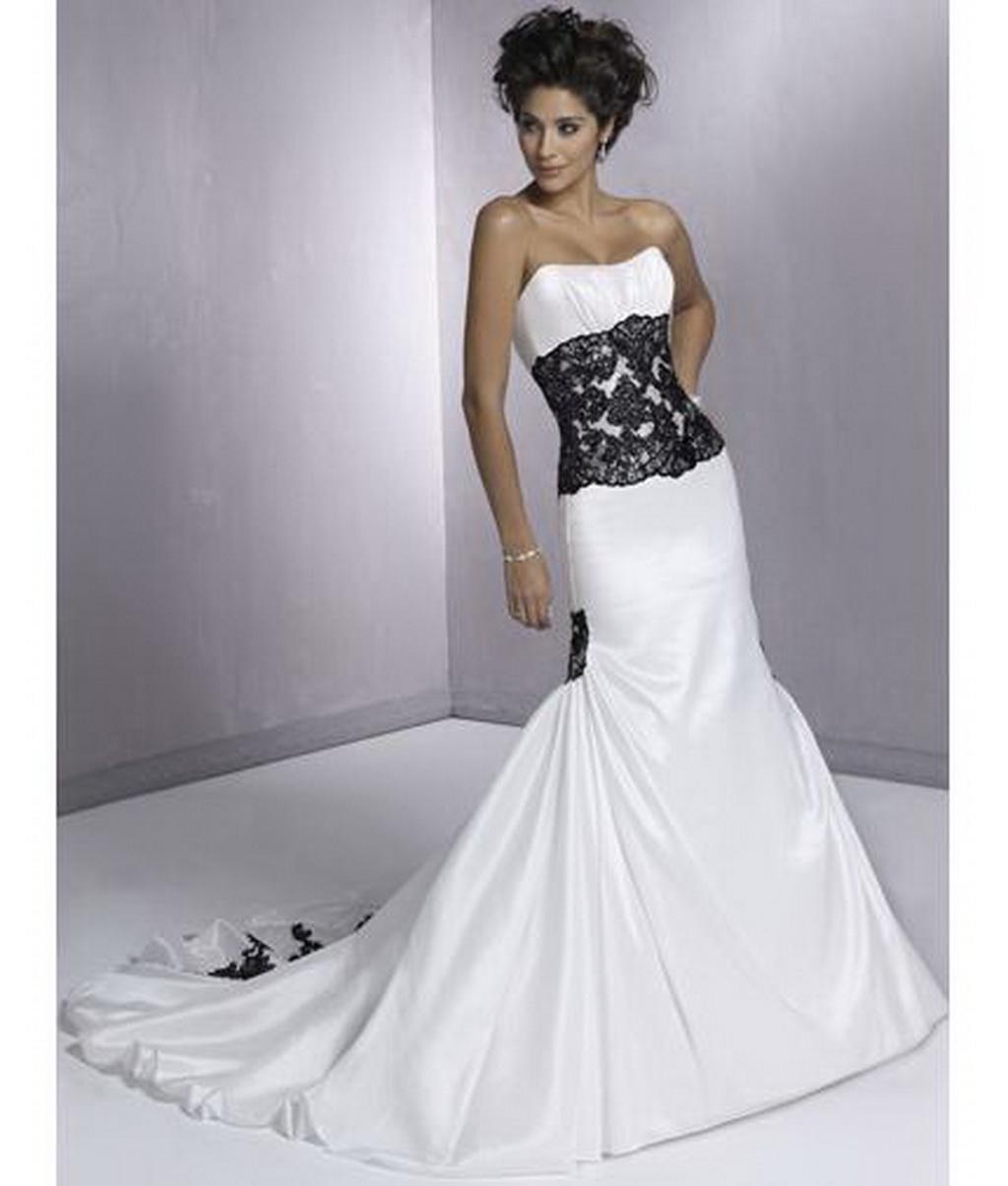 Black And White Wedding Dresses For  : Wedding photos black couples