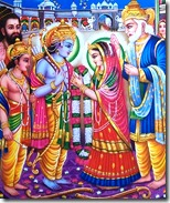 [Marriage of Sita and Rama]