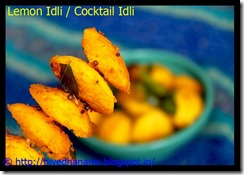 Lemon Idli - IMG_4224