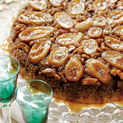 Bananas Foster Upside-down Coffee Cake