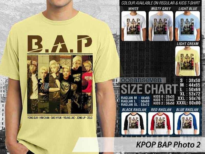 Kaos Bap 2 Photo K Pop Korea distro ocean seven