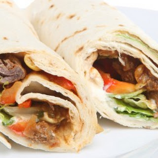 Chili Spiced Steak Wraps Recipes