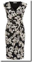 Kaliko Floral Printed Lace Dress