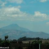 Vulcão na estrada para Quito, Equador