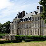 Château Saint-Jean de Beauregard : façade occidentale