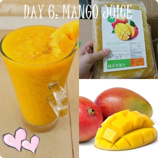 Fresh Code MANGO juice