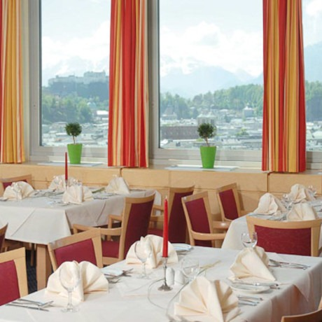Hotel Europa Salzburg Breakfast Views
