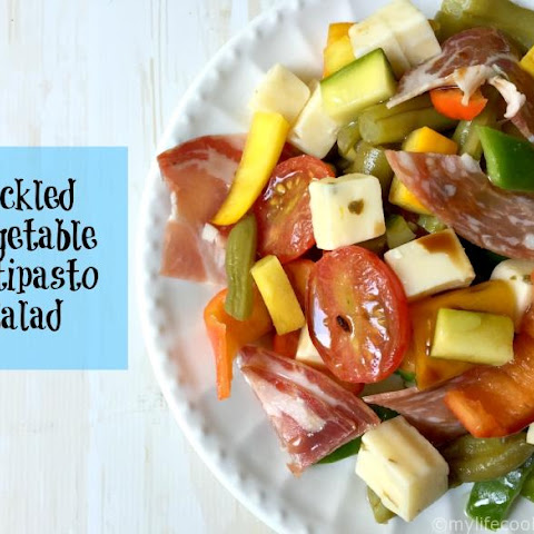 Pickled Vegetable Antipasto Salad