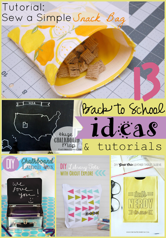 13 Back to School Ideas & Tutorials at GingerSnapCrafts.com #linkparty #features_thumb[2]