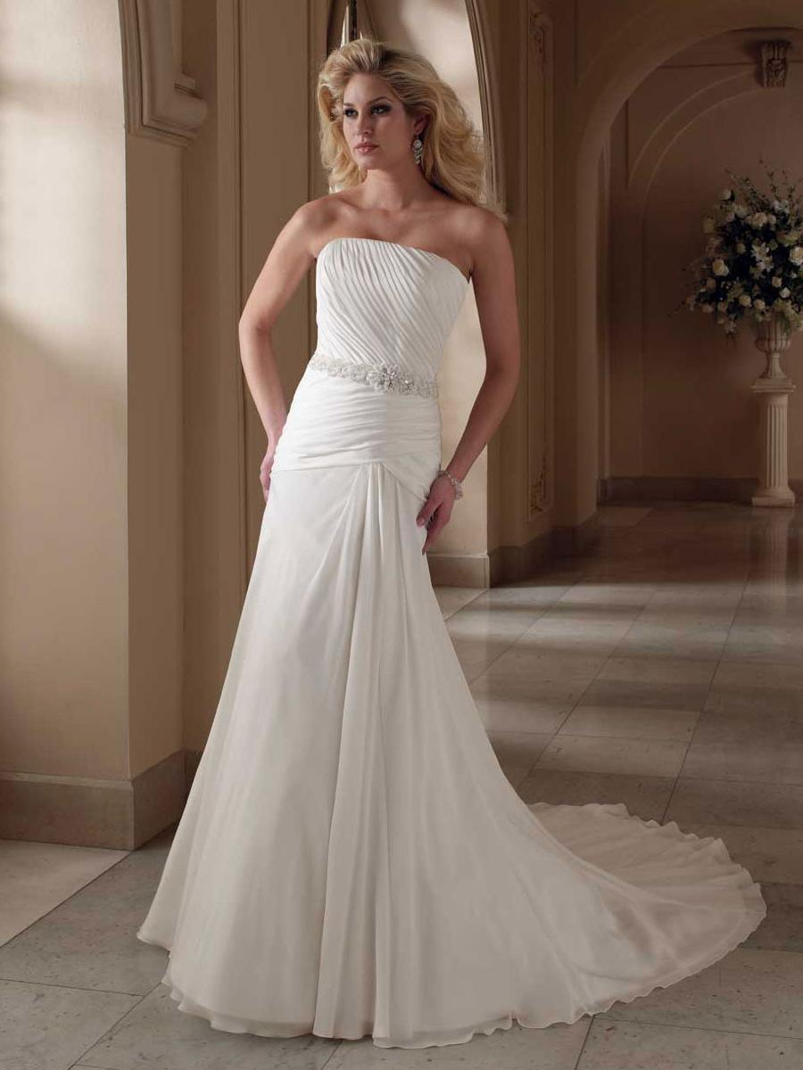 Ruched Bodice Bridal Gown