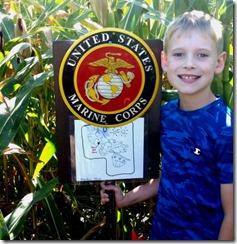 Christian corn maze 2015
