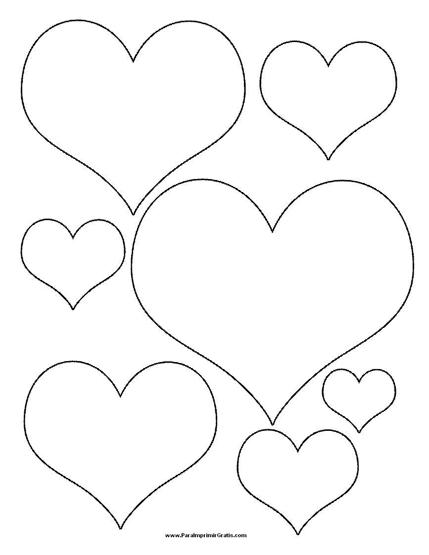 Imagenes de corazones grandes para imprimir Imagui - Imagenes De Corazones Para Imprimir