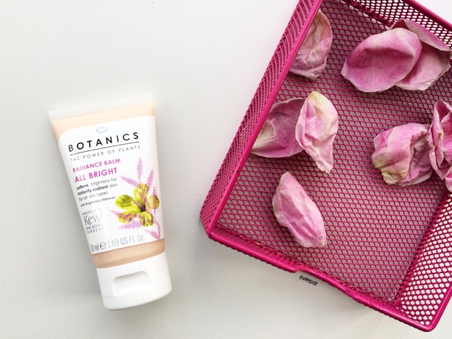 affordable radiance balm from boots botanics that adds luminosity