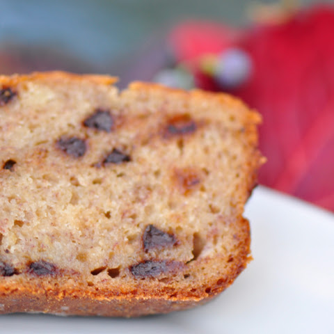 Gluten-Free Banana Bread with Chocolate Chips