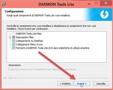 daemon-tools-installazione