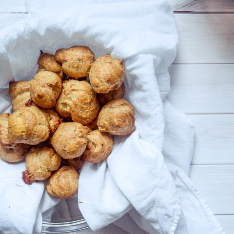 Gougères (french Cheese Puffs)