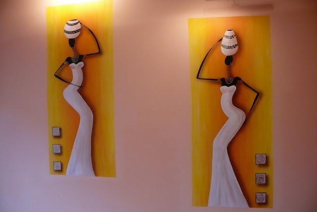 afrykańskie malowidło ścienne, lublin
