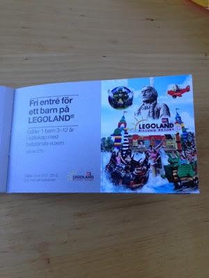 Gratis Legolandbiljetter 2015