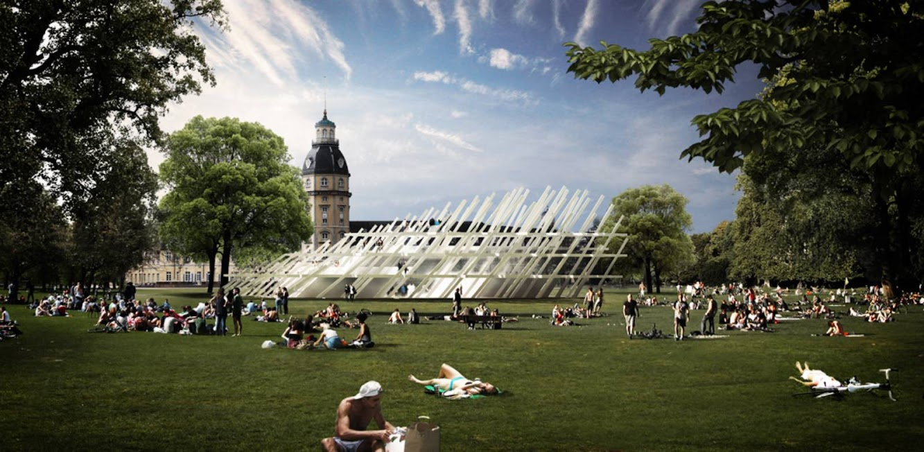 News: PAVILION FOR the CITY JUBILEE by J. MAYER H. ARCHITEKTEN