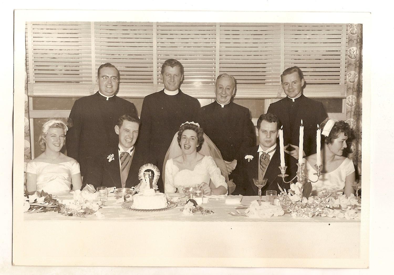 Vintage Wedding Photo Bride
