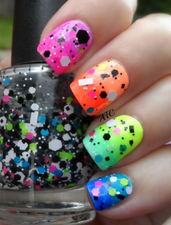 Style File Colorful Nail Art Ideas 2016