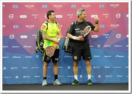 Miguel Lamperti y Adrián Allemandi