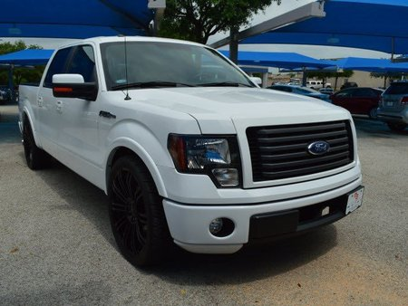 TDY Sales 28992 white 2012 FORD F150 FX2 CREW CAB RWD 24 inch