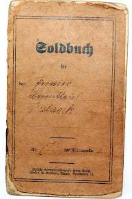 Front view of the Soldbuch