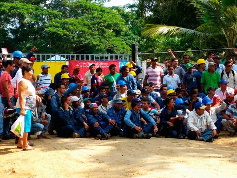 Canacol Energy  enemigo de  las comunidades y trabajadores