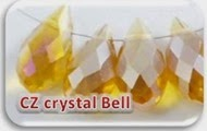 Czeck crystal bell