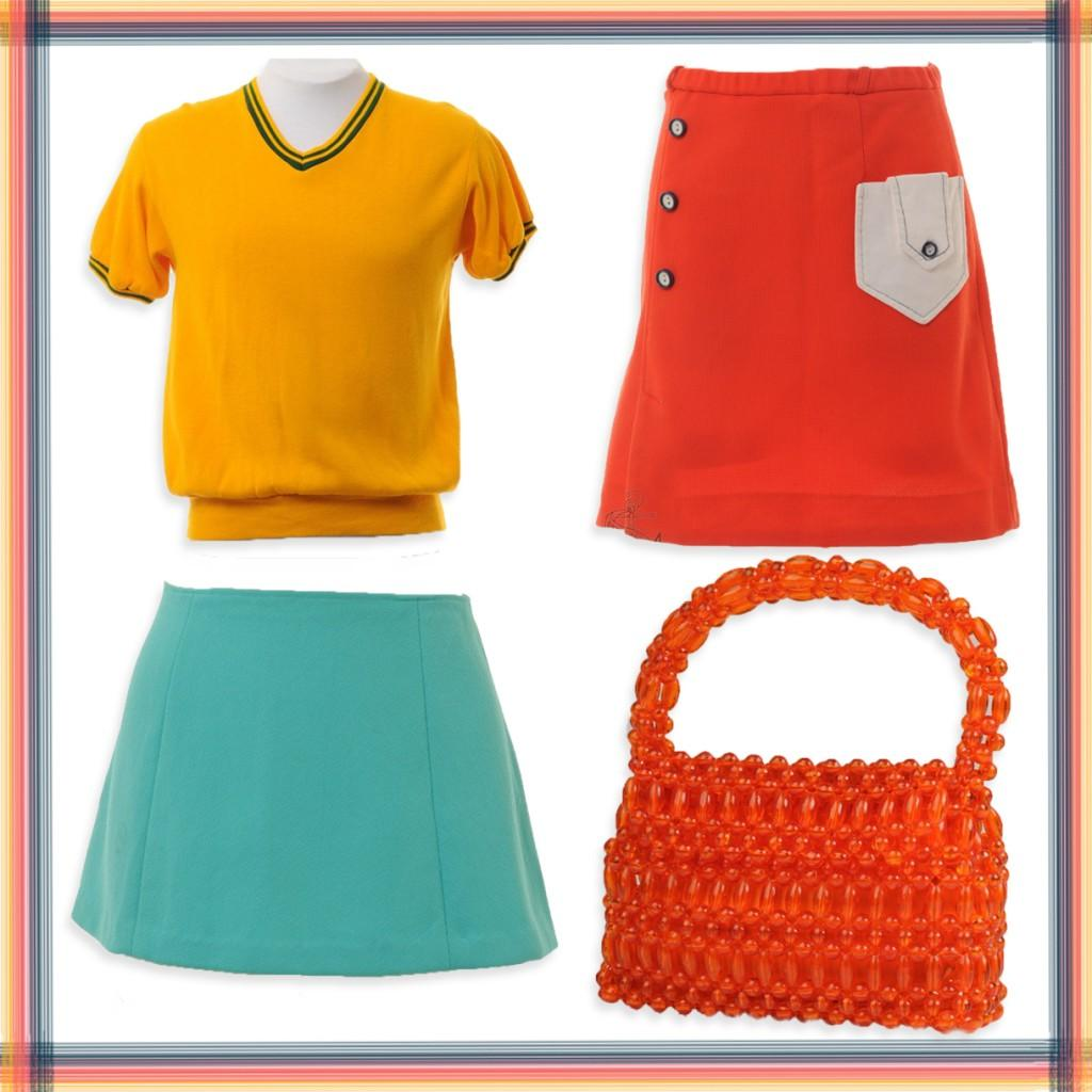 Aqua Blue Mini Skirt   16