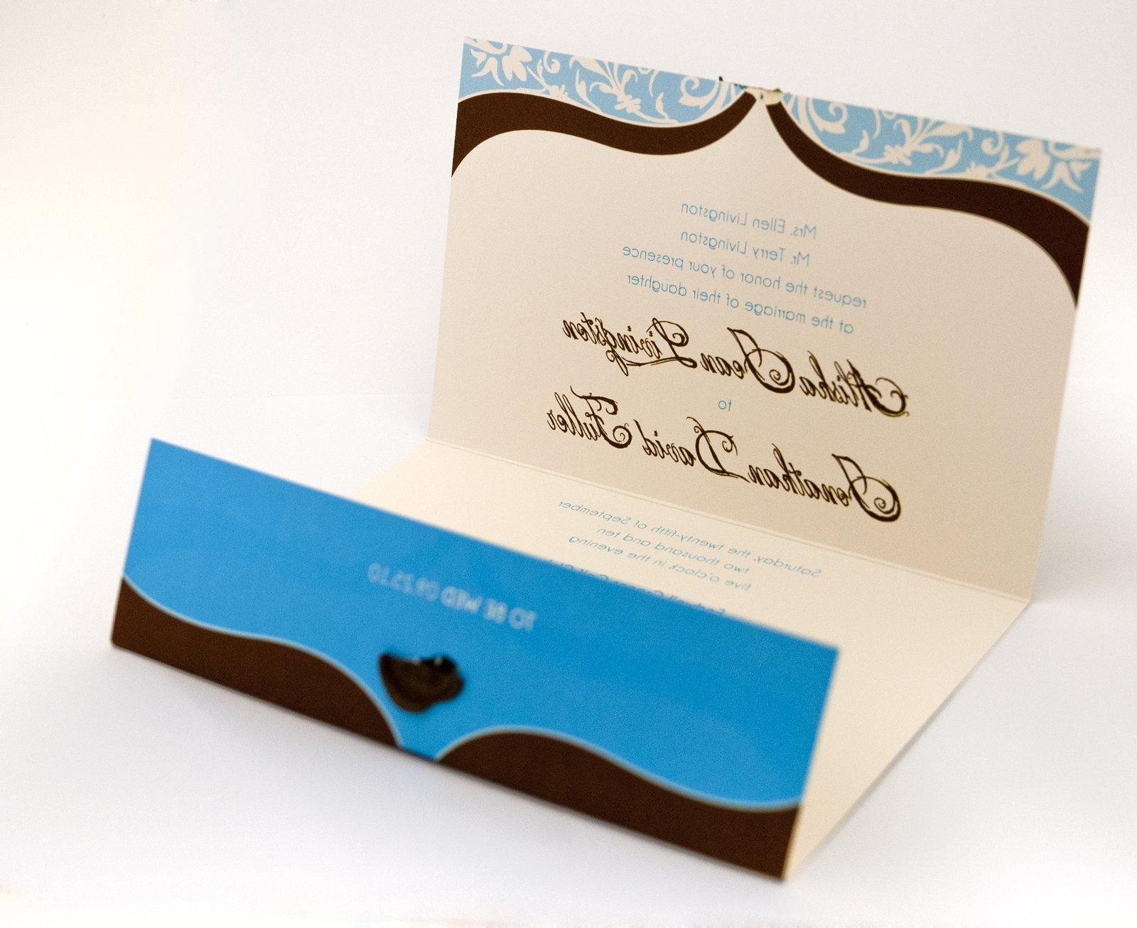 Wedding Invitation - inside by